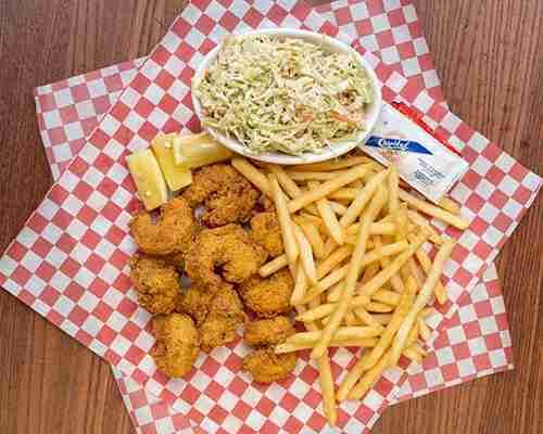 Crispy Fried Seafood Platter